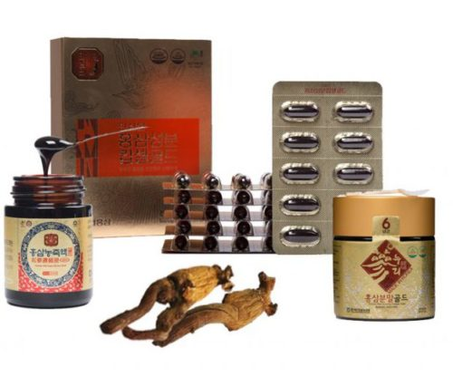1 - PURE RED GINSENG