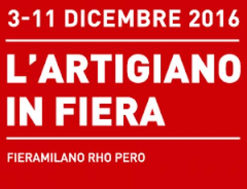 L'Artigiano in Fiera 2016, Fieramilano Rho-Pero