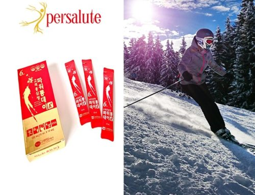 Persalute, get on track with the Korean Red Ginseng