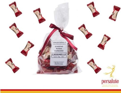 Ginseng Rosso Coreano anche nelle caramelle, solo 18Kcal/cad.